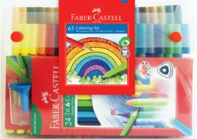 Faber-Castell-65-Piece-Colouring-Set on sale