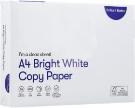 Brilliant-Basics-A4-Copy-Paper on sale