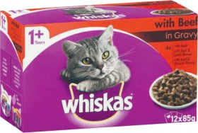 Whiskas-12-Pack-Cat-Food-Varieties-85g on sale