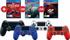 Buy-Any-Selected-PS4-Dualshock-4-Wireless-Controller-and-Get-One-of-These-Games-FREE on sale