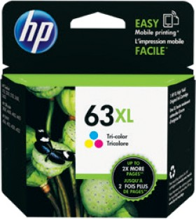 HP-63XL-High-Yield-Tri-color-Original-Ink-Cartridge on sale