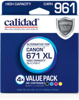 Calidad-Canon-CLI-671XL-BCMY-4-Pack on sale