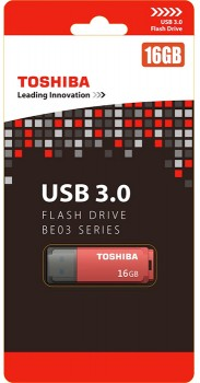 Toshiba-USB-3.0-BE03-Series-Flash-Drive-16GB-Red on sale