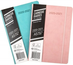 Carnegie-FY21-Week-To-View-A5-Diary-Assorted on sale