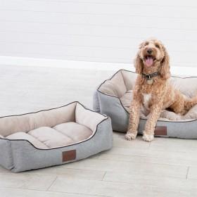 Winston-Latte-Pet-Bed-by-Pet-Talk on sale