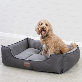 Winston-Charcoal-Pet-Bed-by-Pet-Talk on sale
