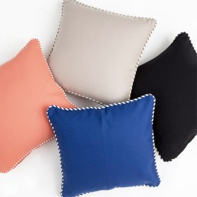 Zona-Outdoor-Square-Plain-Cushion-by-Habitat on sale