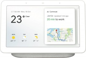 Google-Nest-Hub-Chalk on sale