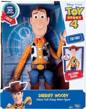 Disney-Pixar-Toy-Story-4-Deluxe-Talking-Sheriff-Woody-12-Inch-Figure on sale