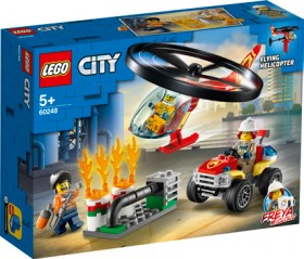 LEGO-City-Fire-Helicopter-Response-60248 on sale
