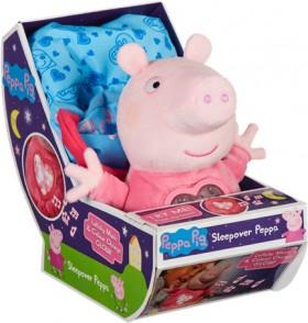 Peppa-Pig-Sleepover-Peppa-Plush on sale