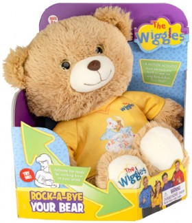 The-Wiggles-Rock-A-Bye-Bear-Motion-Activated on sale