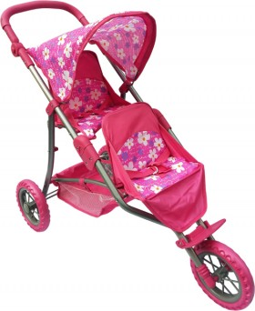 Playworld-Doll-Twin-Jogger on sale