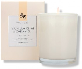 Scents-of-Self-Vanilla-Chai-Caramel-Candle-360g on sale