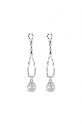 By-Fairfax-Roberts-Real-Pearl-Twist-Earrings on sale