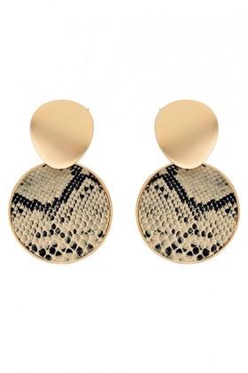 Amber-Rose-Snake-Earrings on sale