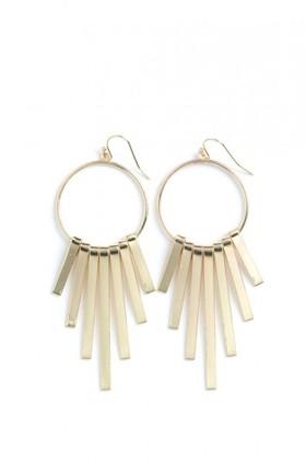 Geometric-Hoop-Earrings on sale