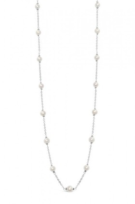By-Fairfax-Roberts-Real-Pearls-Modern-Twist-Long-Necklace on sale