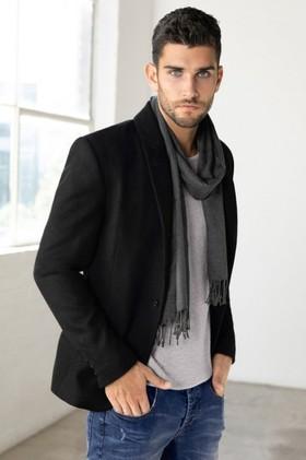Mens-Wool-Blend-Blazer on sale