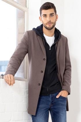 Mens-Wool-Blend-Coat on sale
