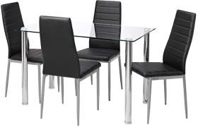Zoe-5-Piece-Dining-Set-with-Zara-Chairs on sale