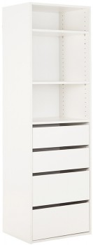 Tailor-3-Shelf-4-Drawer-Unit on sale