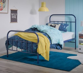 Willow-Single-Bed-in-Navy on sale