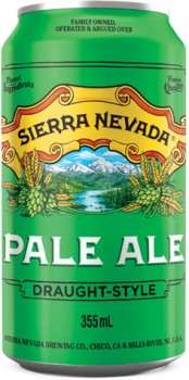 Sierra-Nevada-Pale-Ale-Draught-Style-Can-355mL on sale