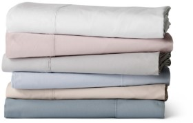 Sheridan-300TC-Organic-Cotton-Percale-Sheet-Sets on sale