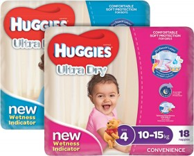 Huggies-Selected-Ultra-Dry-Convenience-Products on sale