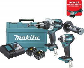 Makita-18V-Li-Ion-2Pce-Combo on sale