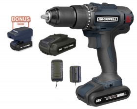 Rockwell-18V-Li-Ion-Brushless-Hammer-Drill-Driver-Kit on sale