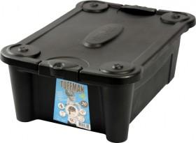 Tuffman-Plastic-Storage-Box-with-Lid-20L on sale
