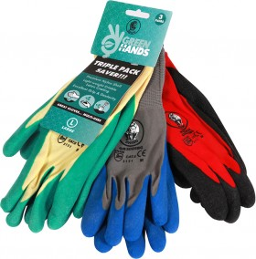 Rhino-3Pk-Gardener-Gloves on sale