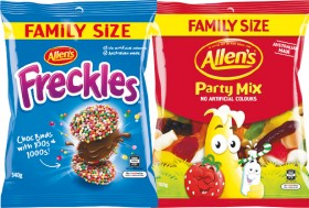 Allens-Family-Size-Lollies-or-Chocolate-Bags-300-465g on sale