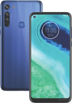 NEW-Motorola-G8-64GB-Neon-Blue on sale
