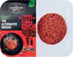The-Alternative-Meat-Co-Plant-Based-Burger-220g on sale