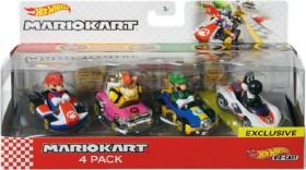 NEW-Hot-Wheels-4-Pack-Mario-Karts on sale