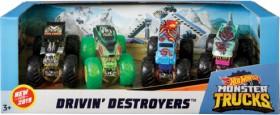 Hot-Wheels-Monster-Trucks-4-Pack-Vehicles on sale