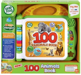 LeapFrog-Learning-Friends-100-Animals-Book on sale