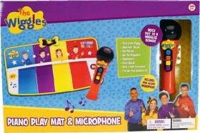 NEW-The-Wiggles-Piano-Play-Mat-Microphone on sale