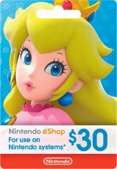 Nintendo-Shop-30-Gift-Card on sale