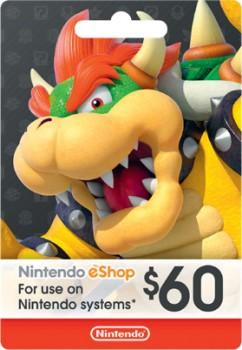Nintendo-Shop-60-Gift-Card on sale