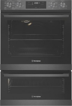Westinghouse-60cm-Pyrolytic-Double-Oven on sale