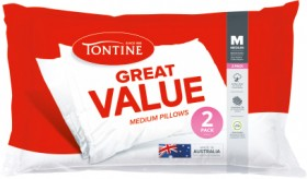 Tontine-Great-Value-Standard-Pillows-2-Pack on sale