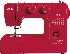 Elna-1000-Ruby-Red-Sewing-Machine on sale