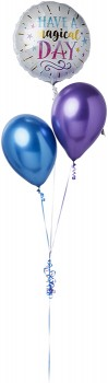 Happy-Birthday-Purple-Gold-Balloon-Bouquet on sale