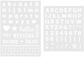 Mini-Alphabet-Stencils on sale