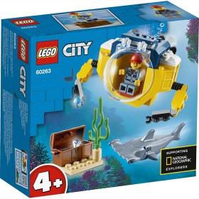 NEW-LEGO-City-Ocean-Mini-Submarine-60263 on sale
