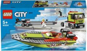 LEGO-City-Race-Boat-Transporter-60254 on sale